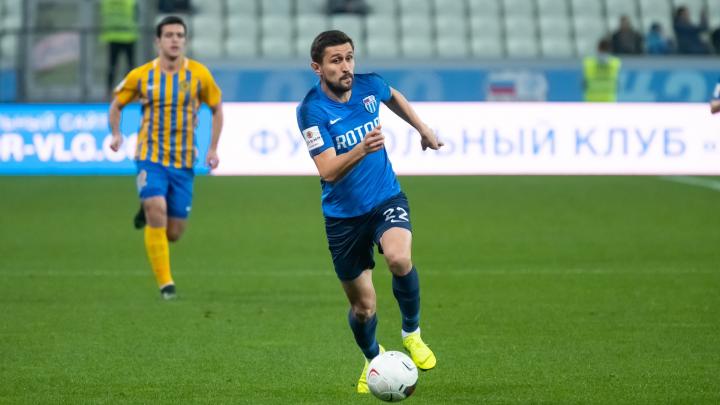 «Ротор» не дорожит своими игроками»: в Волгограде отстранили самого известного игрока клуба