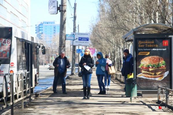 Пассажирам без масок в автобусы вход может быть заказан