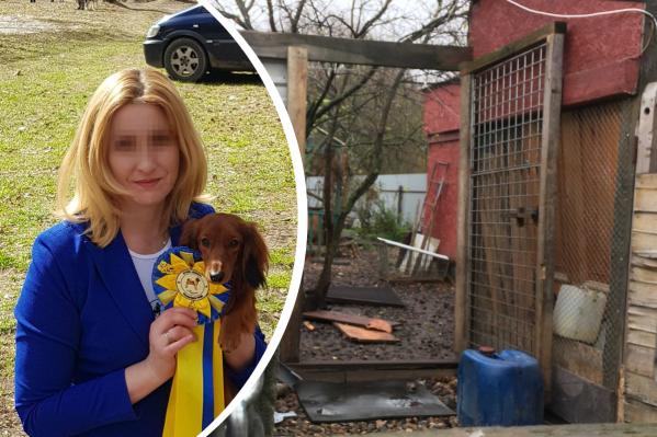 В предбаннике этого дома мальчик нашел окровавленное тело матери