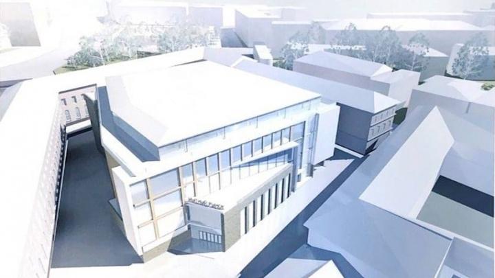 Опубликован проект торгового центра на Мытном рынке