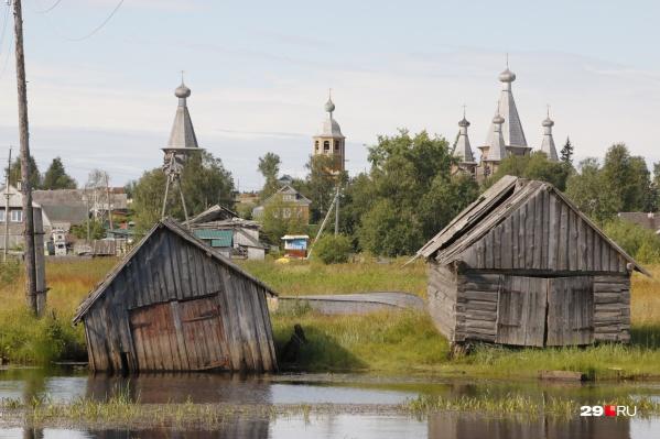 В старинном селе история соседствует с современными военными разработками