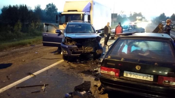 Под Воротынцем водитель «Лады» выехал на встречку и погиб