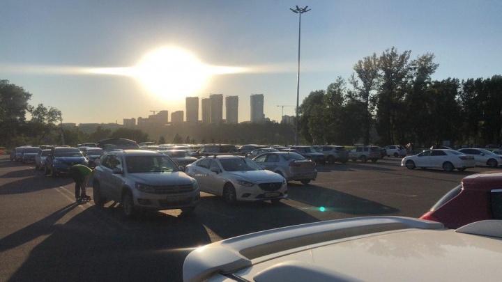 На Татышеве сделают новые дорожки к вантовому мосту за 6,8миллионов рублей