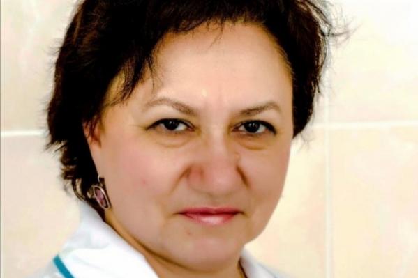 Ирина Юрьева лечила пациентов с коронавирусом