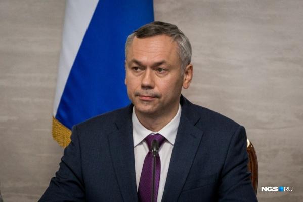 Андрей Травников ответит на вопросы о том, как дальше будет развиваться ситуация в регионе из-за коронавируса