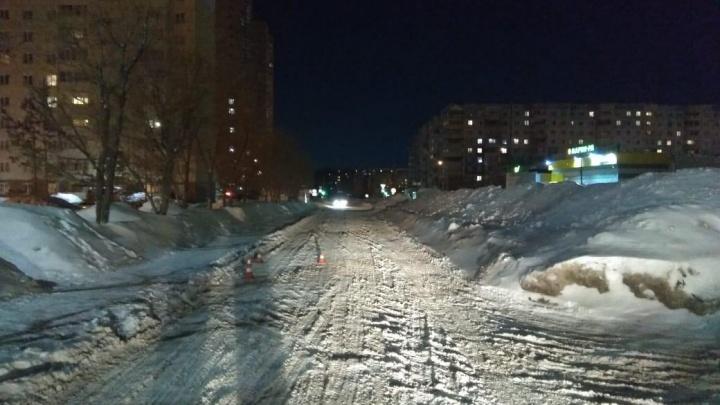 Перелом позвоночника: в Новосибирске водитель «Лексуса» сбил 12-летнего мальчика