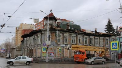 Сгоревшую усадьбу Бухартовских в Уфе выставят на торги за один рубль