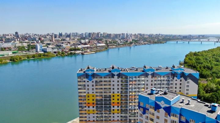 Всего 7 минут до площади Ленина: в эти квартиры с видом на Обь можно въехать уже в этом году