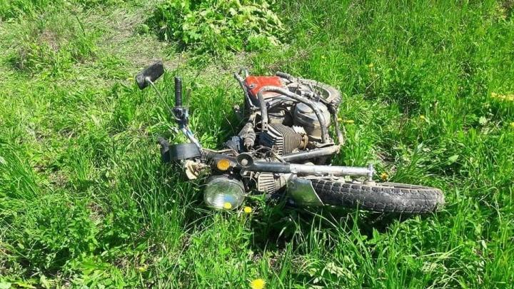 В Башкирии разбился 19-летний мотоциклист