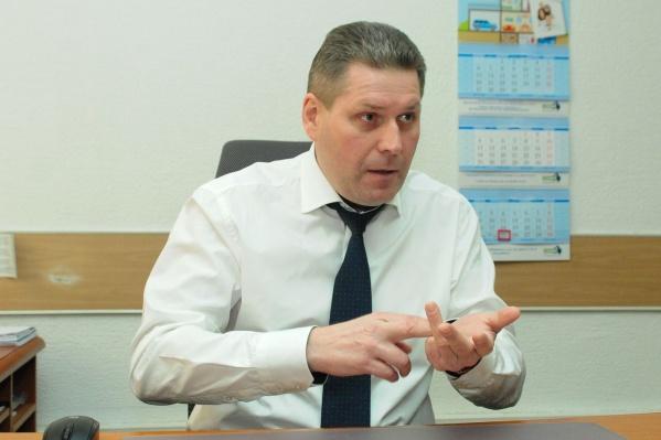 Директор АО «Свердловское агентство ипотечного жилищного кредитования» Александр Комаров