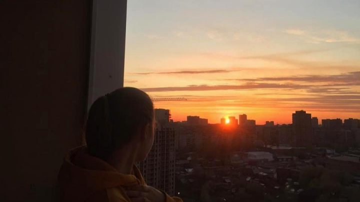Без фильтров: новосибирцев восхитил живописный закат над городом