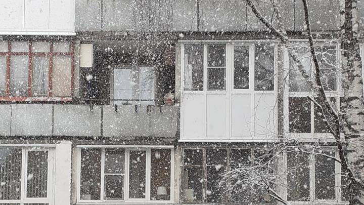 В Нижегородской области сутки будет идти снег