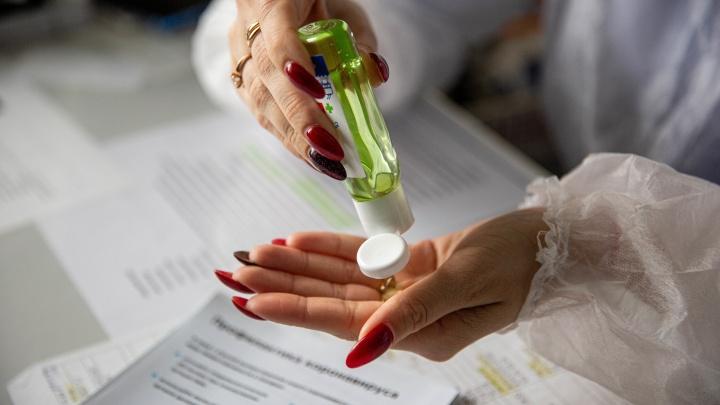 Новосибирцы не могут найти антисептики для рук в магазинах по всему городу