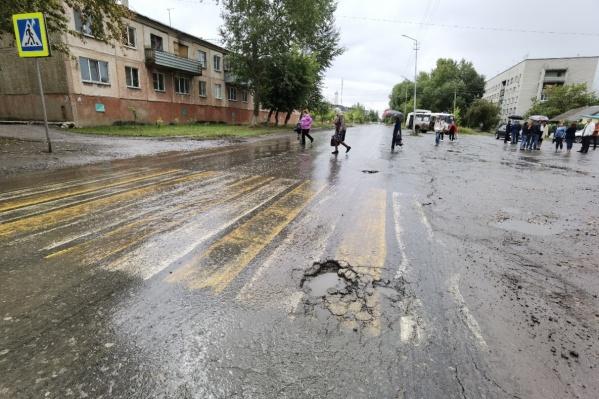 Местные жители давно просили ремонта этой дороги