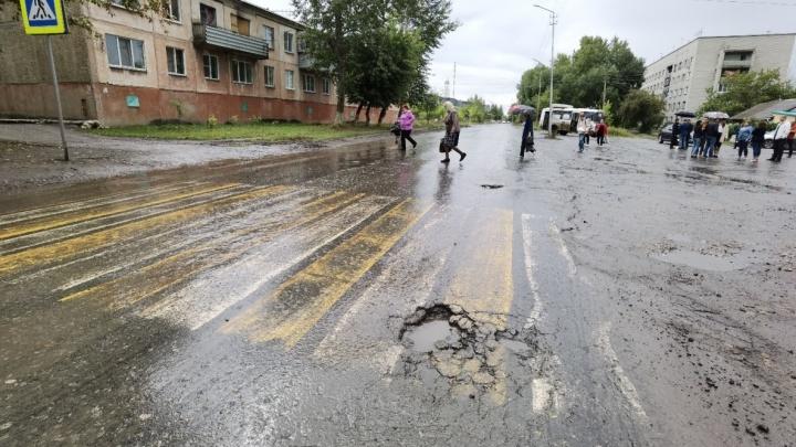 Под Курганом начали ремонтировать дорогу за 101 миллион рублей
