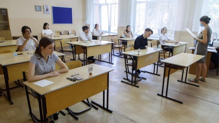 В масках только учителя и наблюдатели: старшеклассники Волгограда 3 июля сдают первый ЕГЭ