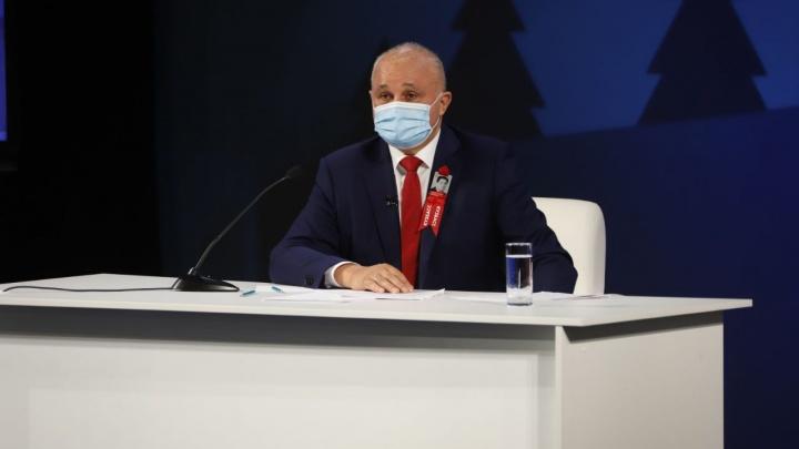 «Это как раз наша вторая волна»: губернатор — о распространении коронавируса в Кузбассе