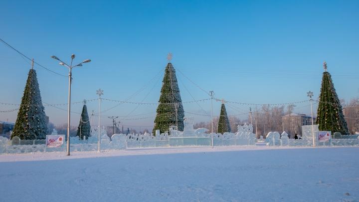 Мэрия объявила первый тендер на новогодние городки. Рассказываем, что будет в Советском районе