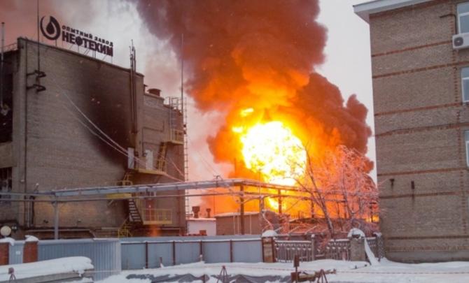 Следователи рассказали, кто виноват в пожаре на заводе «Нефтехим» в Уфе