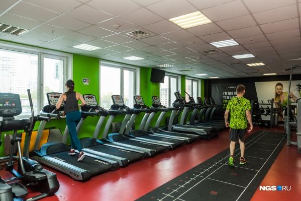 Большинство фитнес-центров не работают более трёх месяцев