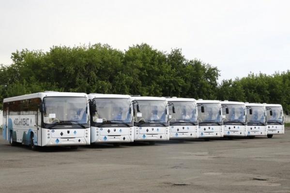В Новокузнецк доставят 280 новых автобусов