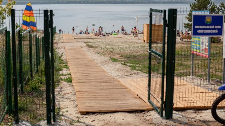 В Челябинске открыли новый бесплатный пляж. 74.RU его уже протестировал