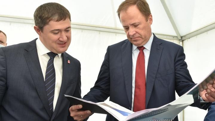 Пермь посетил полпред президента в ПФО Игорь Комаров. Главное о его визите