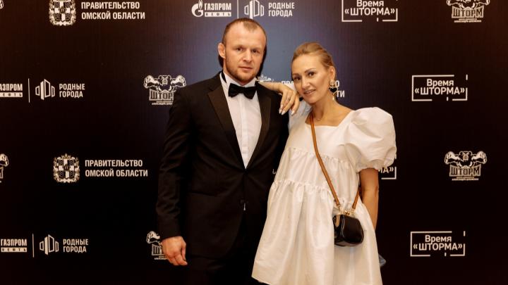 Омский боец Александр Шлеменко стал отцом в четвёртый раз