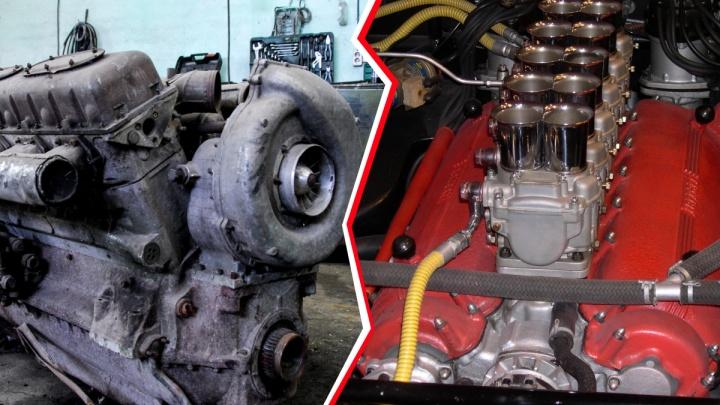 Кто круче: сравниваем лучший советский мотор с первым V12 Ferrari