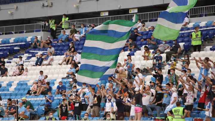 В Самаре фанату «Крыльев» запретили ходить на футбол из-за снятой во время матча маски