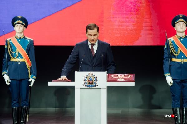 Цыбульский победил на выборах 13 сентября
