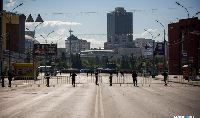 НГС покажет прямую трансляцию парада Победы в Новосибирске
