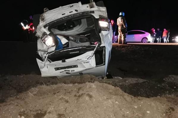 Спасти участников аварии не удалось