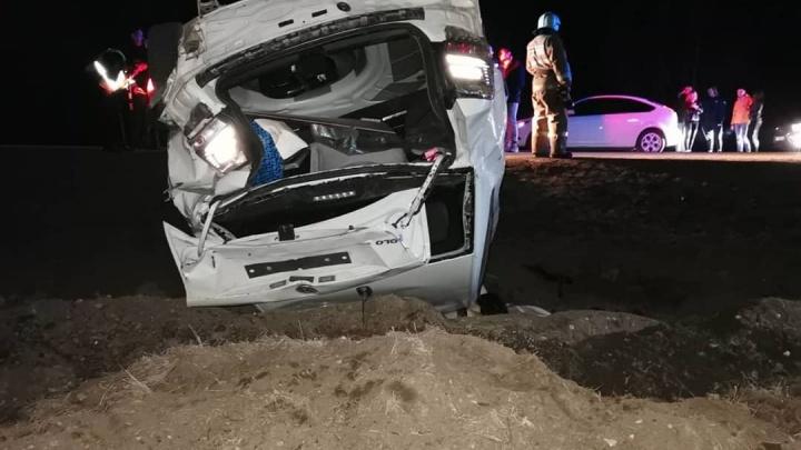 Смертельное сальто в кювете: под Самарой два человека погибли в ДТП