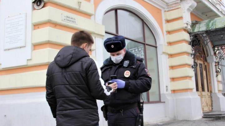 Видео дня. Полиция ловит нижегородцев на улицах и просит предъявить разрешение на выход из дома
