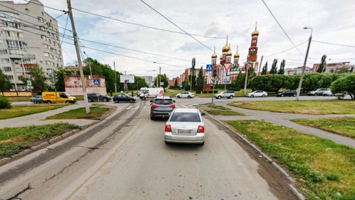 Улицу Степанца расширили во время ремонта