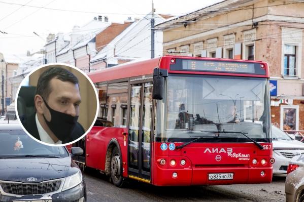 Разработчик новой транспортной схемы Ярославля стремился к экономическому эффекту