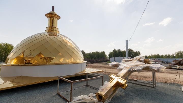 Мозаика, роспись и резной иконостас: каким будет «младший брат» Исаакиевского собора в Челябинске