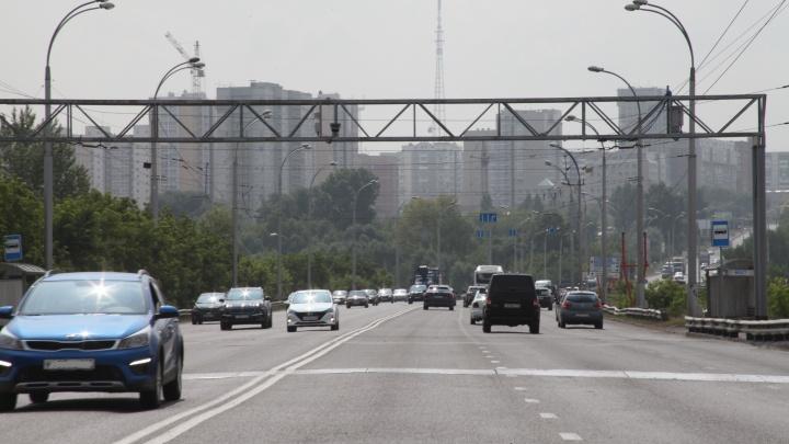 В Кемерово на мосту начала работать новая камера