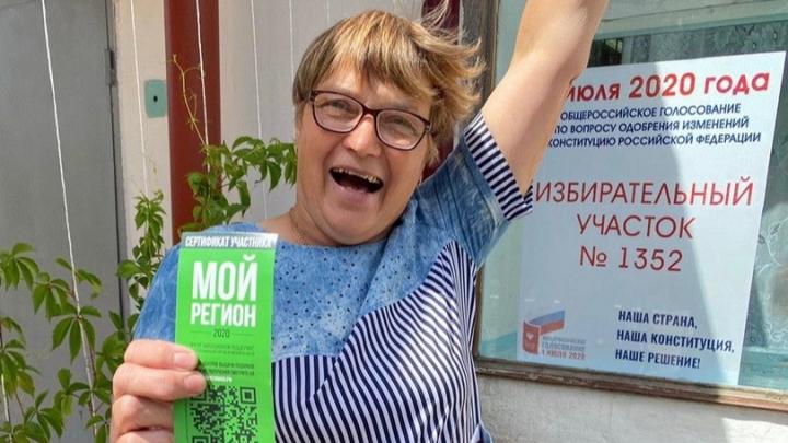 Омичка выиграла квартиру в первый день голосования — она председатель избирательного участка