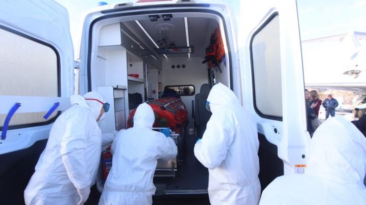 Пришли результаты анализов челябинки, госпитализированной с подозрением на коронавирус после Рима