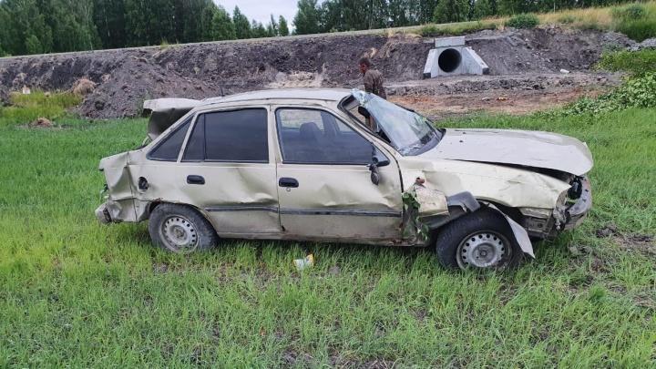 В Курганской области из-за пьяного водителя пострадали три ребенка