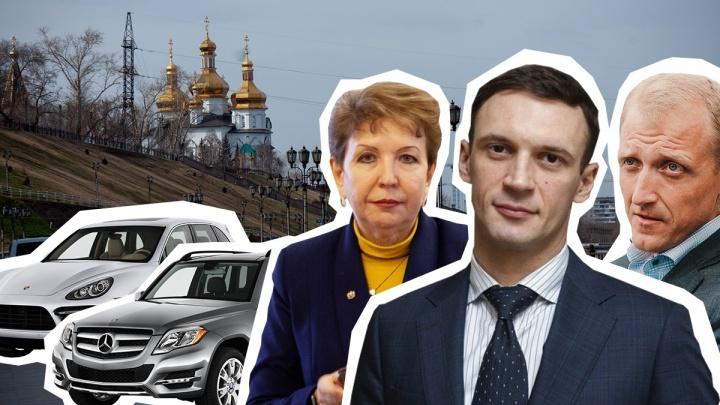 ВИП-гаражи новых замов тюменского губернатора: предпочитают немецкие автомобили (угадайте какие)