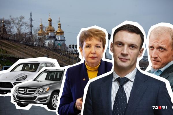 Как думаете, по сколько машин в собственности есть у каждого из этих чиновников? Вы удивитесь, узнав правильный ответ<br><br>