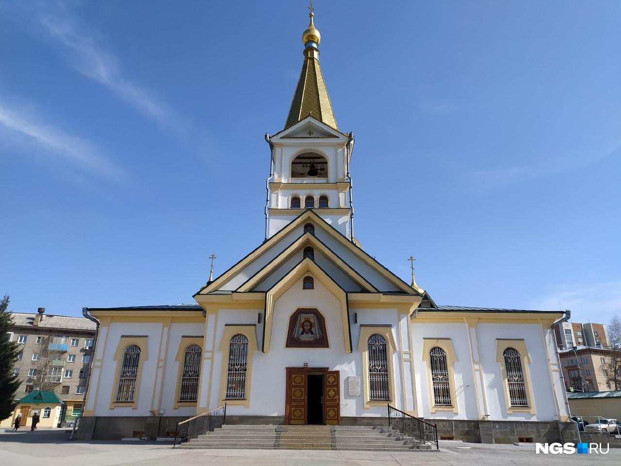 В Вознесенском кафедральном соборе почти нет людей