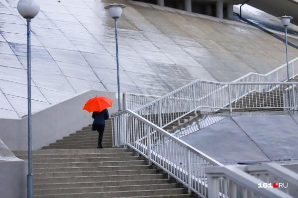Если верить прогнозам, всю неделю будут идти дожди