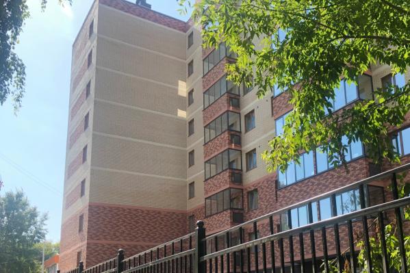 8-этажный жилой дом построили на три месяца быстрее, чем рассчитывали