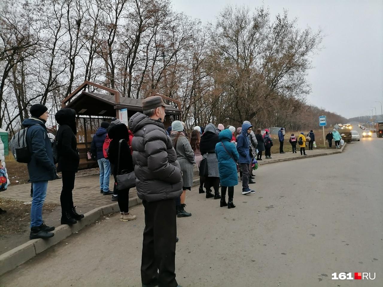 Остановки в час пик в Суворовском