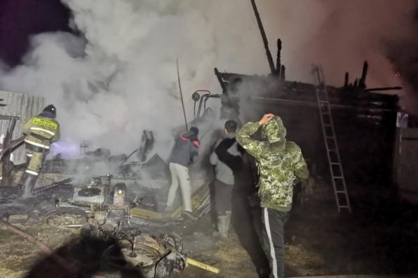 Четыре человека смогли спастись, остальные — погибли