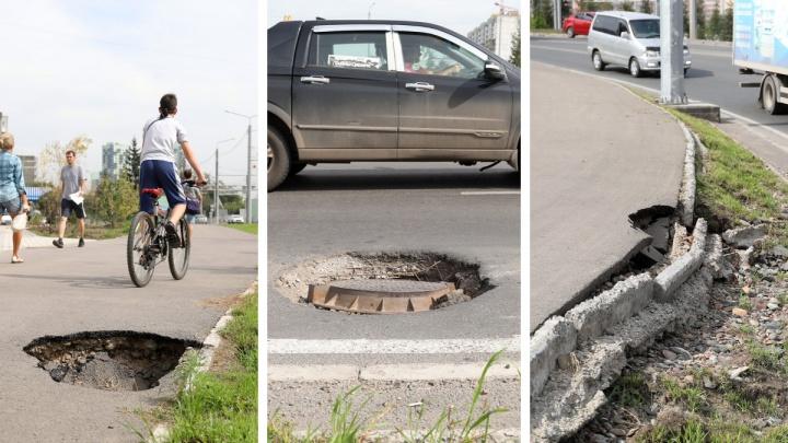 Компанию «Сибиряк» уже полтора года заставляют устранять огрехи на развязке четвёртого моста